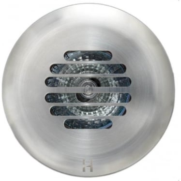 PURE LED Floor Light Grill- stainless steel - Low Voltage