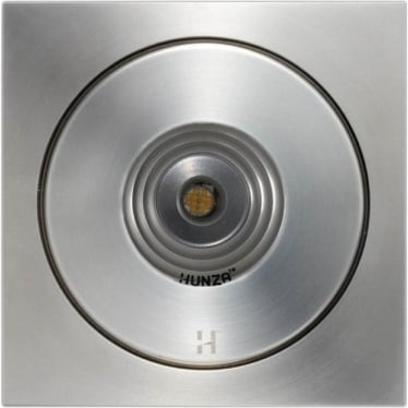 PURE LED Flush Floor Light Square- stainless steel - Low Voltage