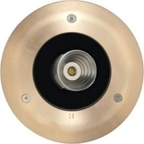 PURE LED Lawn Light Deck Mount - Solid Bronze - Low Voltage