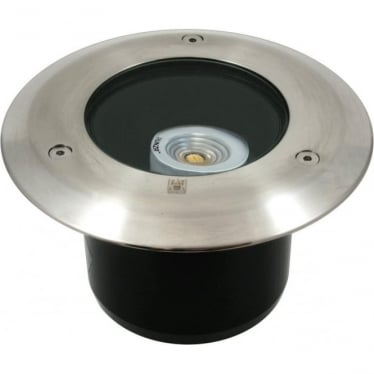PURE LED Lawn Light Deck Mount- stainless steel - Low Voltage