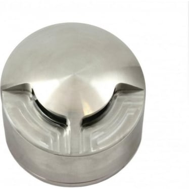 PURE LED Path Light surface mount - 1 facet - stainless steel - Low Voltage