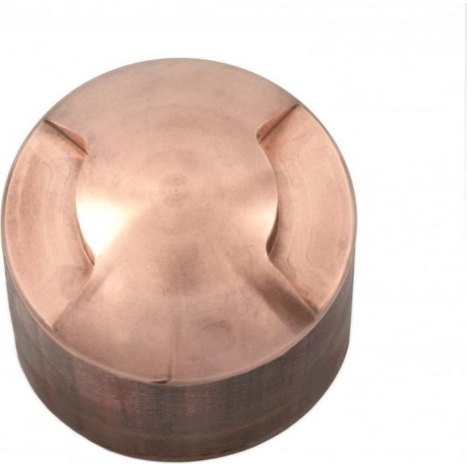 Hunza Outdoor Lighting PURE LED Path Light surface mount - 2 facet - copper - Low Voltage