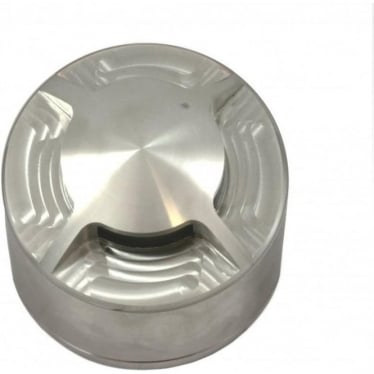 PURE LED Path Light surface mount - 4 facet - stainless steel - Low Voltage