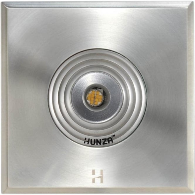 Hunza Outdoor Lighting PURE LED Step Light Square - stainless steel - Low Voltage