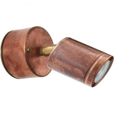 PURE LED Wall Spot Retro - copper - MAINS