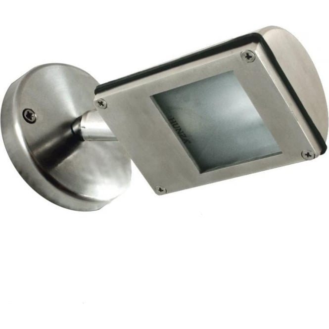 Hunza Outdoor Lighting PURE LED Wall Wash Spot- stainless steel - Low Voltage