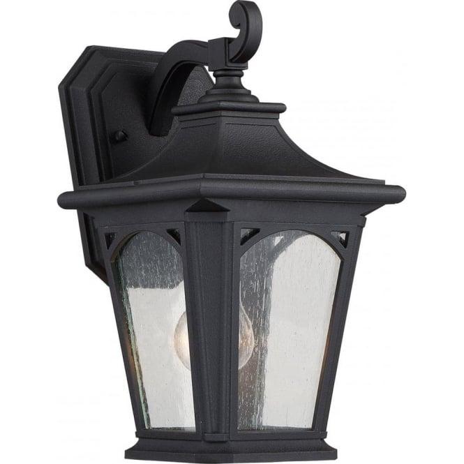 Quoizel Bedford Small Wall Lantern Mystic Black