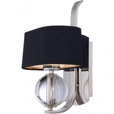 Gotham Single Wall Light Imperial Silver