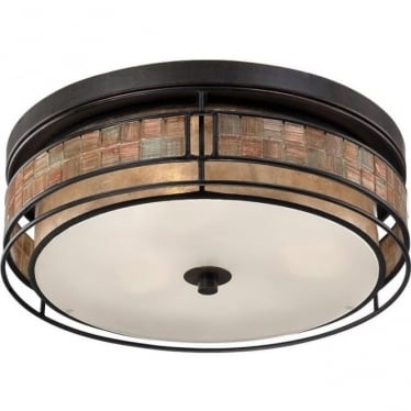Laguna Large Flush Mount Fitting Renaissance Copper