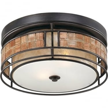 Laguna Small Flush Mount Fitting Renaissance Copper