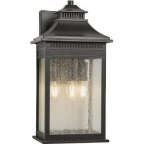 Livingston Large Wall Lantern Imperial Bronze
