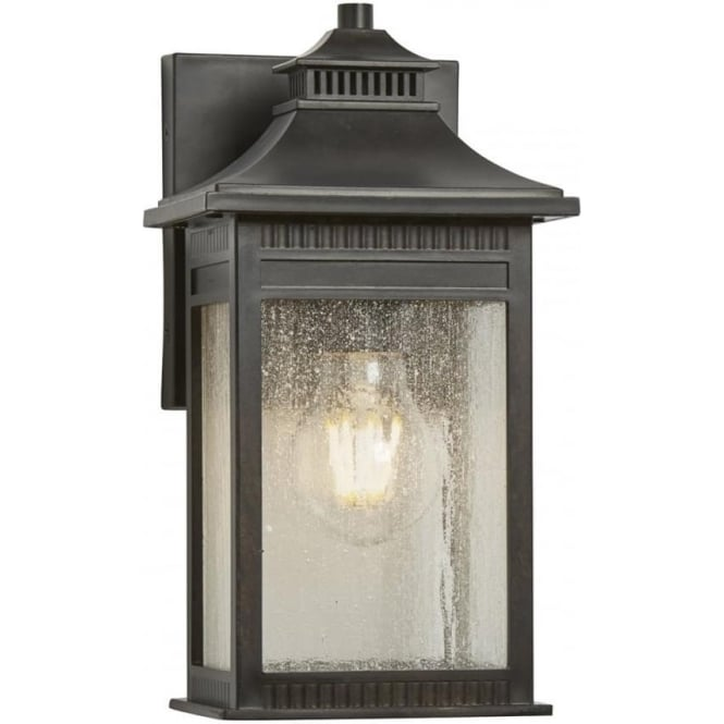 Quoizel Livingston Small Wall Lantern Imperial Bronze