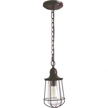 Marine small chain lantern - Western Bronze