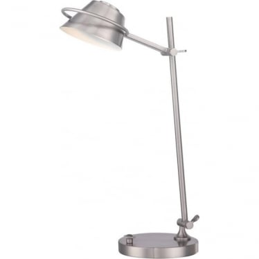 Spencer LED Table Lamp Brushed Nickel