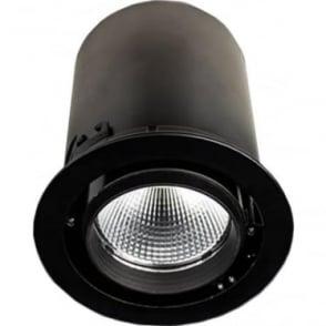 RDSM Medium Recessed 26W Adjustable LED Downlight - Round - Low voltage