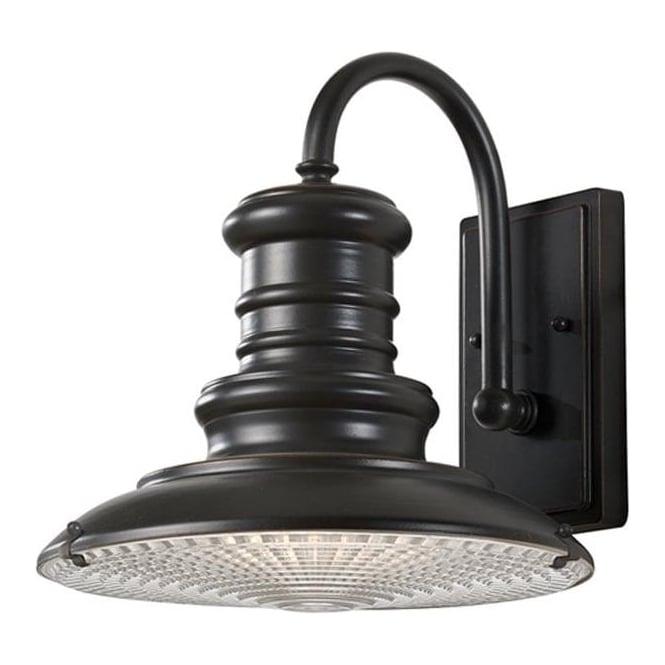 Feiss Redding Station medium wall lantern - Bronze