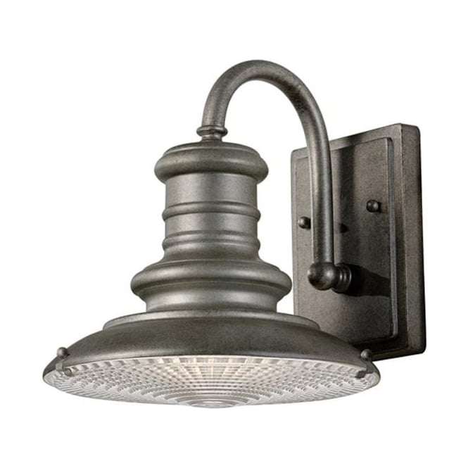 Feiss Redding Station small wall lantern - Tarnished