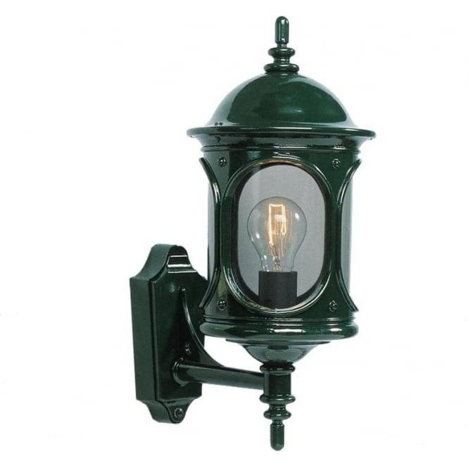 Konstsmide Garden Lighting Rigel wall up light - green 605-600