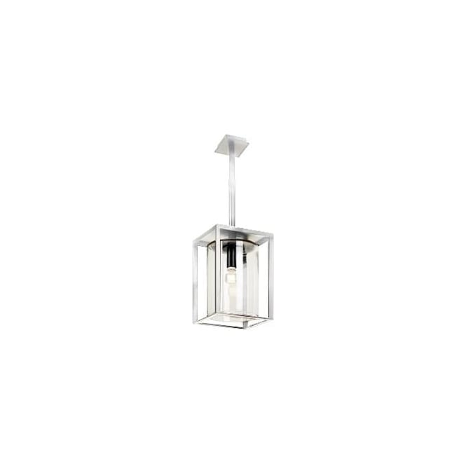 Royal Botania Dome Ceiling pendant - White frame & clear glass - Short