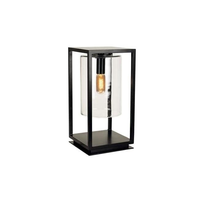 Royal Botania Dome Gate lamp - Black frame & clear glass