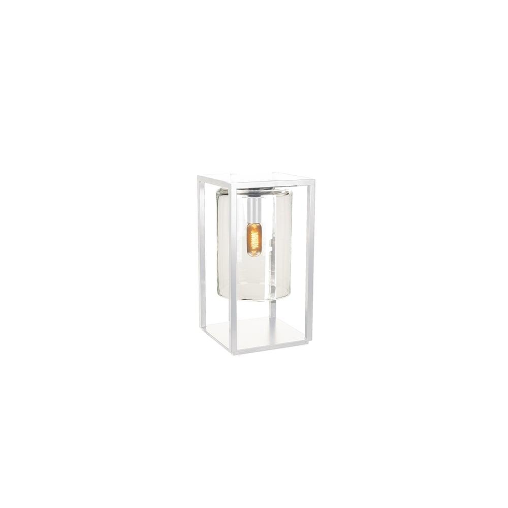 Royal Botania Royal Botania Dome Gate lamp - White frame & clear ...