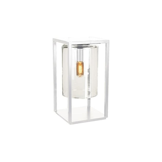 Royal Botania Dome Gate lamp - White frame & clear glass