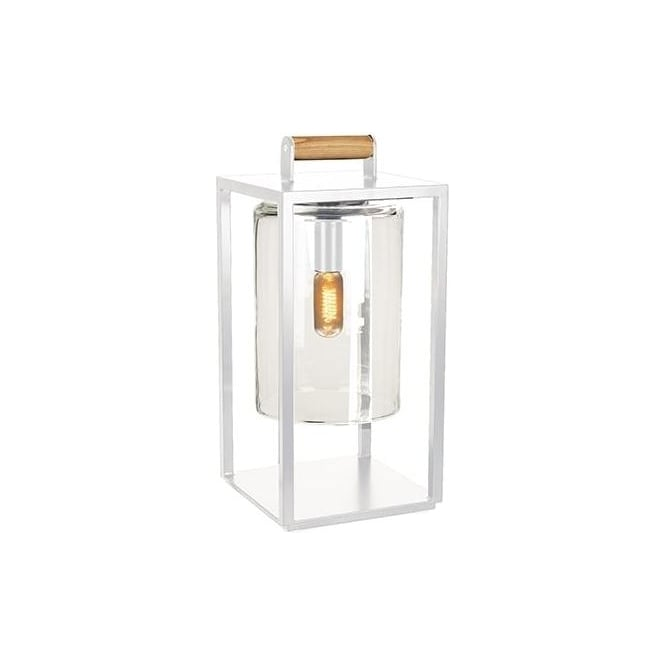 Royal Botania Dome Small lamp - White frame & clear glass