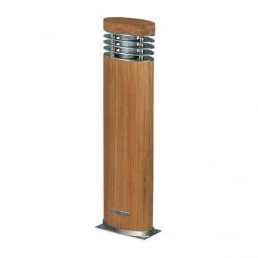 Ellipse - Teak & stainless steel - 700mm