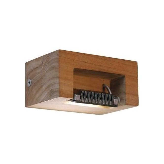 Royal Botania Log - Teak & stainless steel