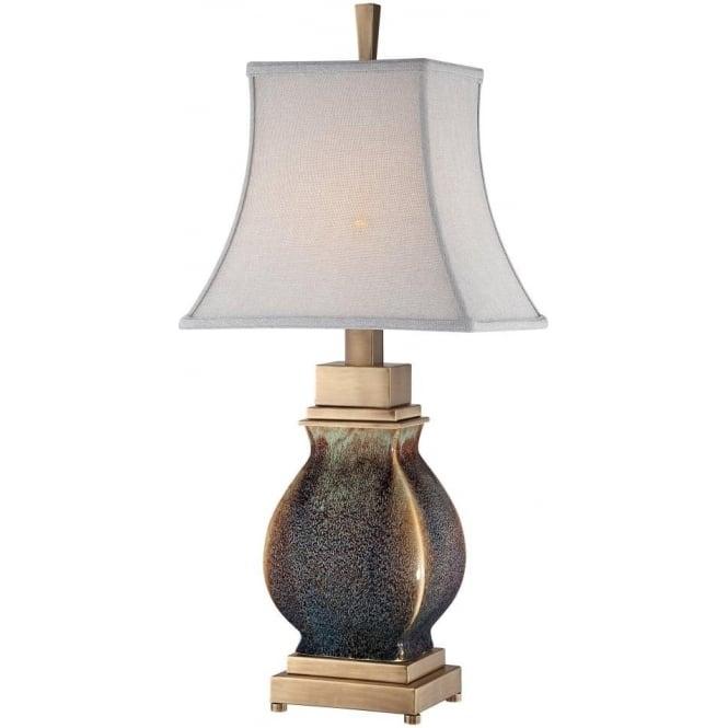Quoizel Saratoga Ceramic Table Lamp