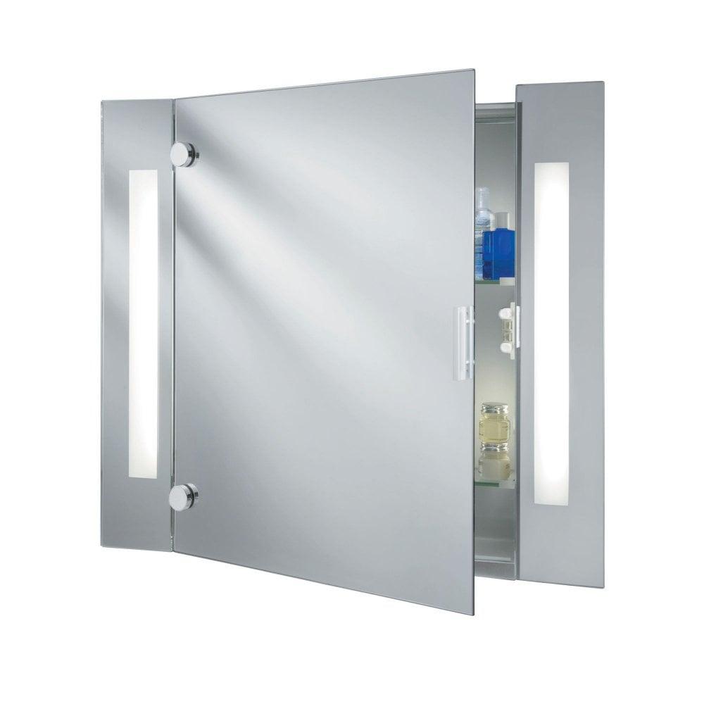 Peachy Bathroom Mirror Light Illuminated Mirror Glass Cabinet 2 Light Shaver Socket Ip44 Download Free Architecture Designs Viewormadebymaigaardcom
