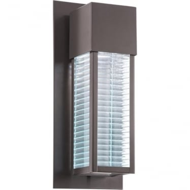 Sorel Single Light Outdoor Wall LED Architectural Bronze Architectural Bronze