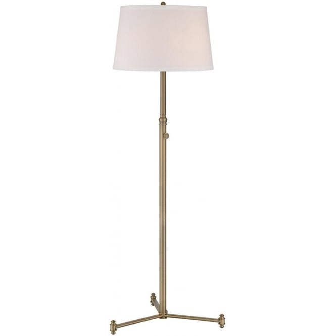 Quoizel Southway Floor Lamp Aged Brass