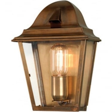 St James Wall Lantern - Brass