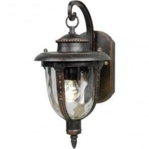 St Louis Wall Lantern Small - Weathered Bronze