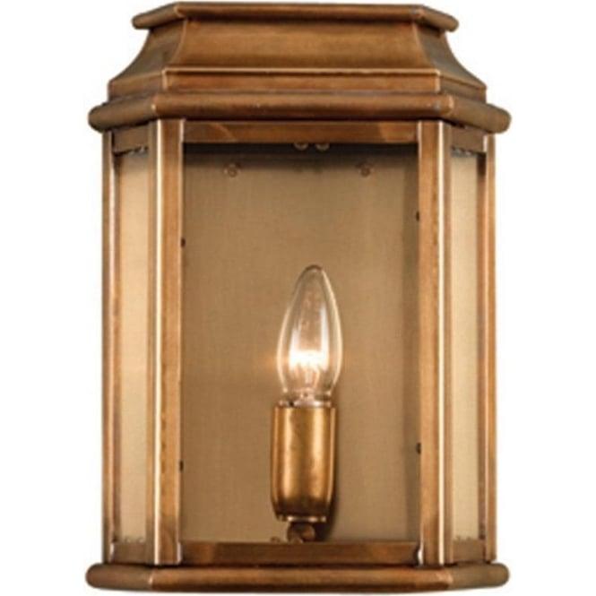 Elstead Lighting St Martins Wall Lantern - Brass