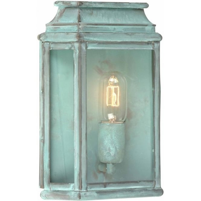 Elstead Lighting St Martins Wall Lantern - Verdi