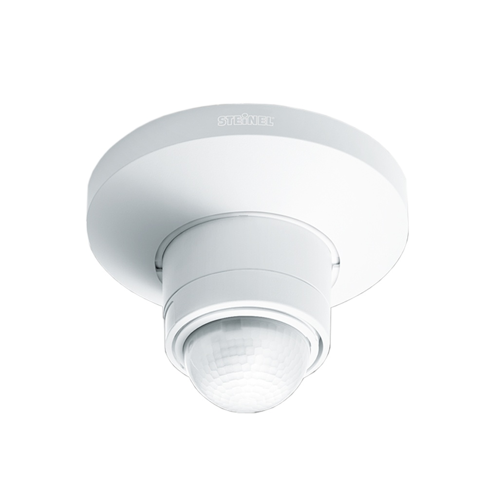 steinel sensor lighting steinel sensor lighting disc is 360 d trio with pir white exterior. Black Bedroom Furniture Sets. Home Design Ideas