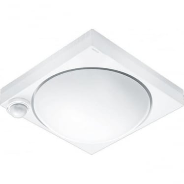 DL 750 S Porch light with 360 degree PIR - white