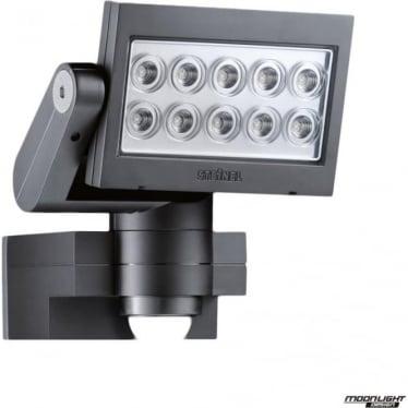 XLED 10 FLOODLIGHT with PIR E3 - BLACK