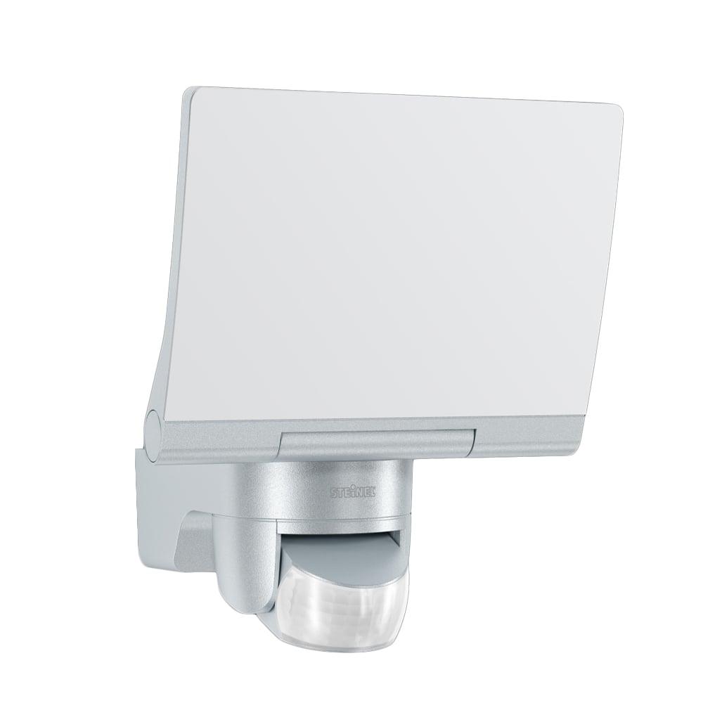 steinel sensor lighting steinel sensor lighting xled home 2 xl led floodlight with pir silver. Black Bedroom Furniture Sets. Home Design Ideas
