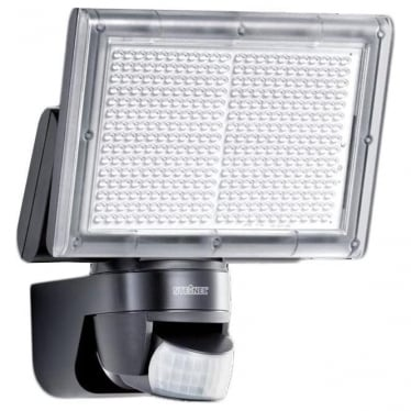 XLED Home 3 LED Floodlight with PIR - black