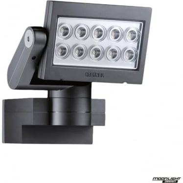 XLED-SL 10 SLAVE FLOODLIGHT WITHOUT PIR E3 - BLACK