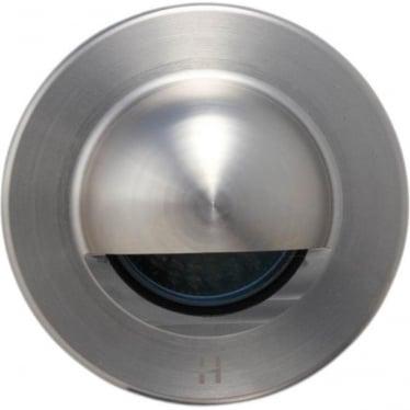Step Light Seamless Eyelid GU10 - stainless steel- MAINS