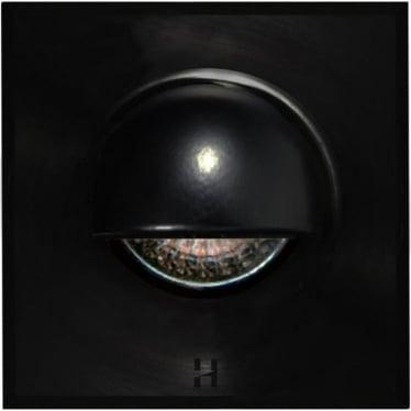 Step Light Seamless Eyelid Square GU10 - Powder coat colours - MAINS