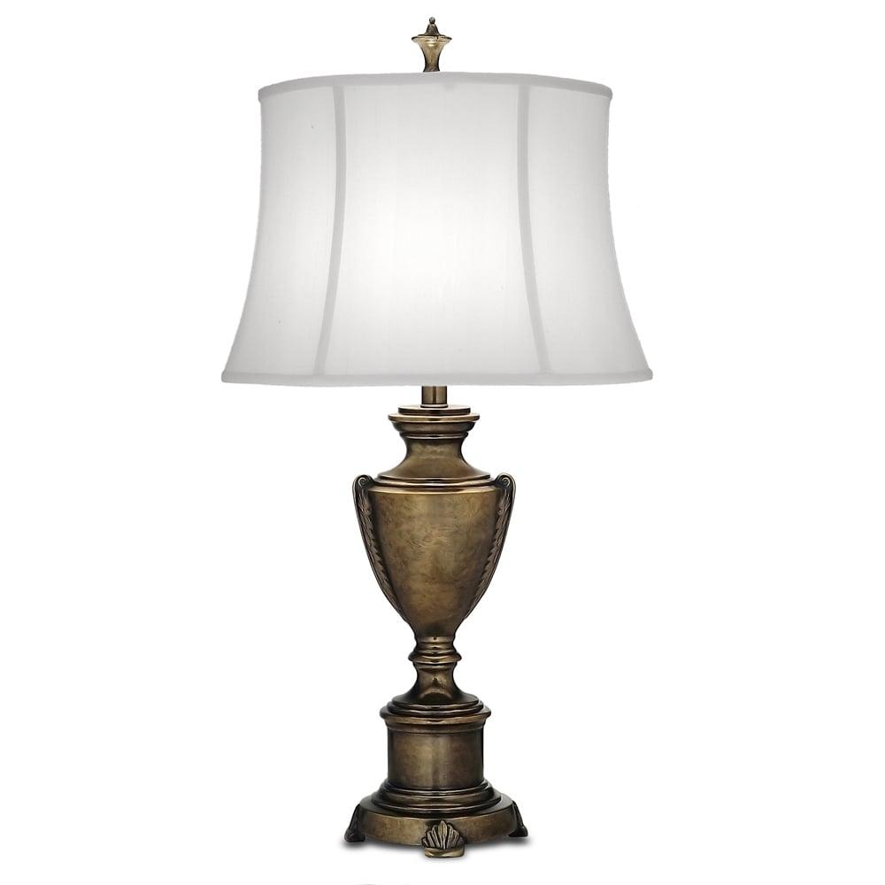 Stiffel stiffel city hall table lamp smoked umber interior lights city hall table lamp smoked umber aloadofball Gallery