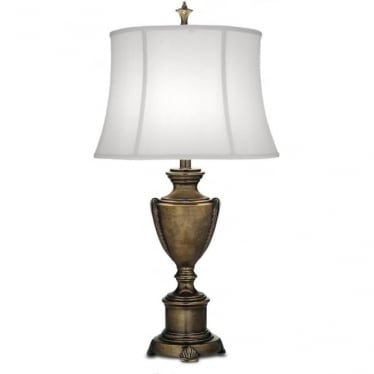 City Hall Table Lamp Smoked Umber