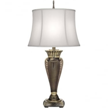 Portland Table Lamp Roman Bronze