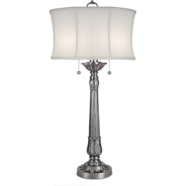 Presidential Table Lamp Pewter