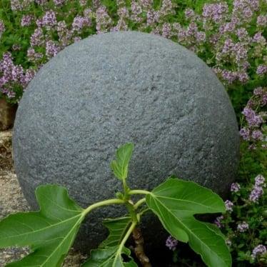 Stone Globe Lights Granite Mains 230v